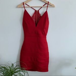 Little Red Dress - NWOT